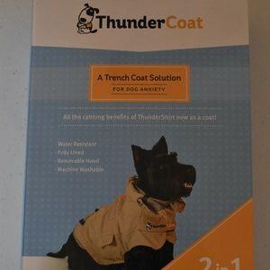 NIB Dog ThunderCoat Trench Coat